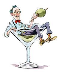 martini cartoon clip art did classic cocktails like the martini and tom collins originate