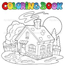 3 incredible house coloring page ngbasic com