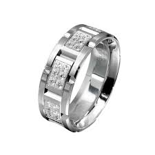 white gold wedding bands for men men s wedding bands above 5 000 king jewelers