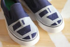 r2d2 shoes tutorial dragonfly designs