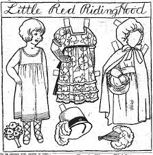 colouring picture red riding hood coloring pages