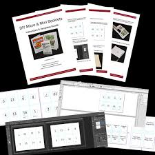 booklets templates diy micro and mini booklets templates indesign photoshop