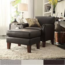 Modern Accent Chair Uptown Modern Accent Chair And Ottoman By Inspire Q Classic Free