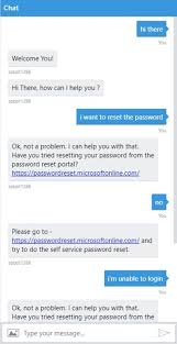 reset microsoft online services password getting started with azure bot service part 3 configuration