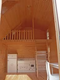 architecture inspiring camping cabin room design with brown