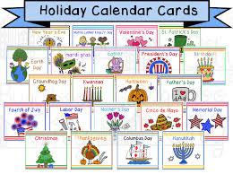 holiday calendar cards children u0027s calendar digital