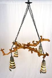 Grapevine Chandelier Hand Made Old Vine Dolcetto Grapevine Chandelier By Wine