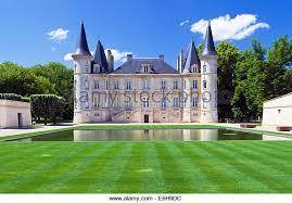 learn about chateau pichon baron chateau pichon longueville stock photos chateau pichon