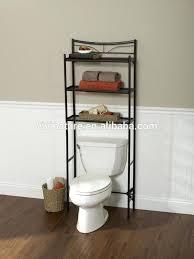 bathroom storage over toilet shelf powder coating finish zenith