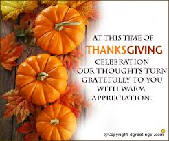 at the time of thanksgiving day celebration our thoughts turn