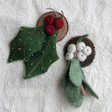 265 best felt ornaments for images on