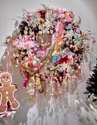 candyland wreath by goodwill candyland christmas 2016