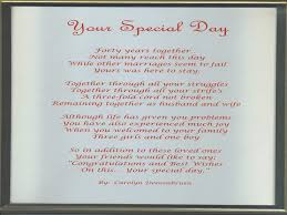 50th wedding anniversary poems 50th wedding anniversary poems for parents in archives