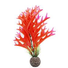 1pcs new design plastic artificial aquarium decoration plant grass