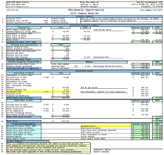 Estate Spreadsheet Templates Estate Flip Spreadsheet Estate Investment Analysis