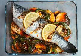 marocain de cuisine recette du poisson au four façon tajine les délices d amal