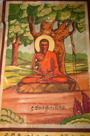 file thangka depicting buddha the bodhi tree weherahena