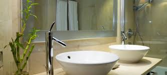 How To Hang A Bathroom Mirror by How To Install A Modern Bathroom Sink Doityourself Com