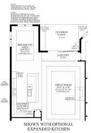 Great Room Kitchen Floor Plans by Jupiter Country Club Golf Villas The Salerno Home Design