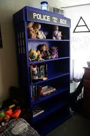 Dr Who Tardis Bookshelf Projects