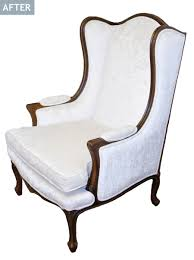 French Wingback Chair Am Dolce Vita French Wing Chair Makeover