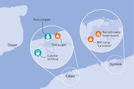 Calais France Map by Medical Agency Builds Migrant Camp In The Heart Of Europe The Bmj