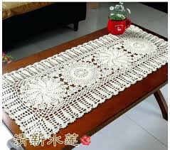 Cover Coffee Table Coffee Table Cloth Covers Coffee Table New Gift Handmade Crochet