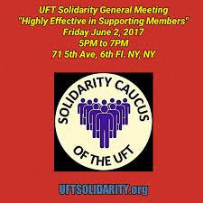 uft solidarity building a stronger uft together