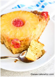 homemade pineapple upside down cake