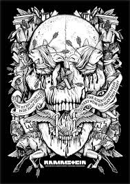 headless horses the great skull our design for rammstein