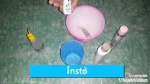 Obat Gom tutorial slime tanpa slime act borax gom dan obat tetes mata atau