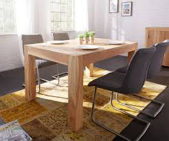 Esszimmertisch Xxl Esstisch Amadora 140x100 Altholz Natur Beine Durchstossen Möbel