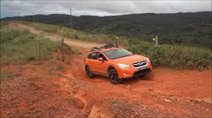 crosstrek subaru orange subaru xv 2013 offroad test youtube