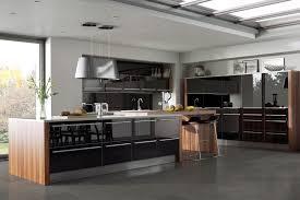 black gloss kitchen ideas glossy black kitchens kitchen sourcebook