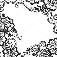flower vector ornament corner stock vector iktash2 64076319