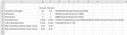 Excel Survey Data Analysis Template How To Analyze Survey Data In Excel