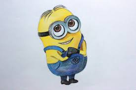 drawing lessons draw minion despicable 1 2