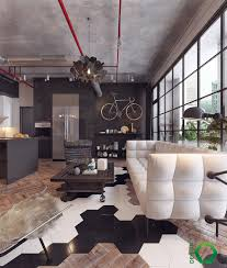 Industrial Living Room by Join The Industrial Loft Revolution