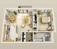 Two Bedroom Apartments Best 25 1 Bedroom Apartments Ideas On Pinterest 2 Bedroom