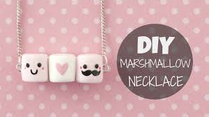 3 Peas In A Pod Jewelry Diy Cute U0026 Easy Marshmallow Necklace Youtube