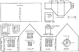 printable model house template building a glitterhouse howard s how to s from