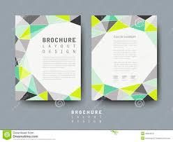 modern geometric style flyer template stock vector image 43824873