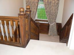 Oak Banisters And Handrails Oak Staircases Distinctive Country Furniture Limited Makers Of