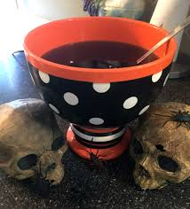 black halloween punch witches brew
