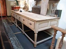 kitchen work island large antique work table in oak sold office table