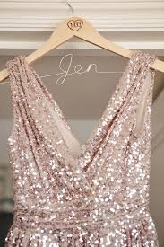reserved custom made rose gold short sequin dresses and matching