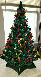 3 foot christmas tree with lights 37 best ceramic christmas trees images on pinterest christmas