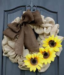 burlap sunflower wreath burlap wreath tutorial for beginners burlap wreaths and sunflowers