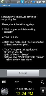 samsung remote app android samsung tv remote app now available for all android 2 1 devices