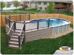 Backyard Above Ground Pool Ideas Pictures Of Above Ground Pools With Decks Resolve40